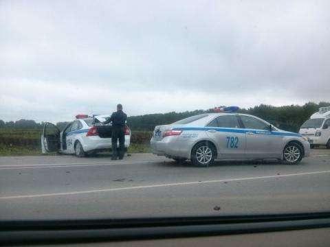 По факту смертельного ДТП с участием полиции проводится служебная проверка