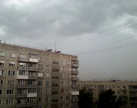 13 августа 2014 года в Бердске опять был штормовой ветер