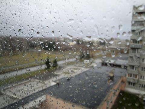 Днем 12 сентября в Бердске дождливо. Погода +8 градусов Цельсия. Ночью похолодает до +6