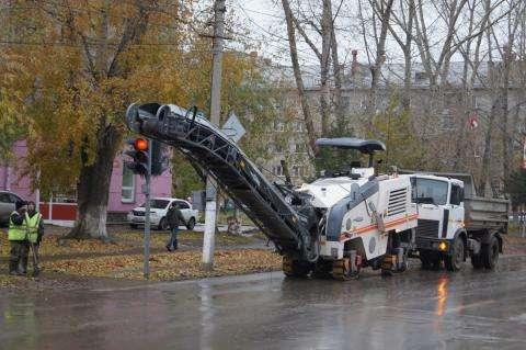 В Бердске идет ремонт улицы Ленина