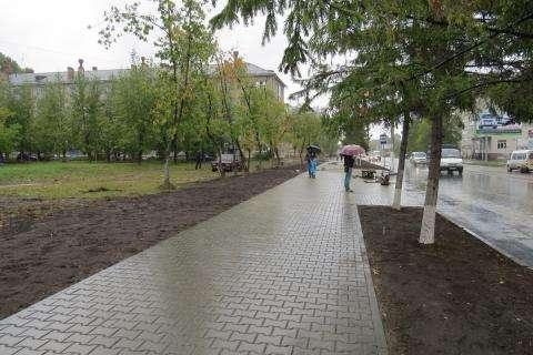 На 11 квартале в Бердске уже завершается капремонт участка дороги ул. Ленина