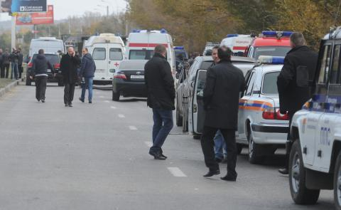 Теракт будет учебный, но действия служб - настоящими. Фото rbcdaily.ru