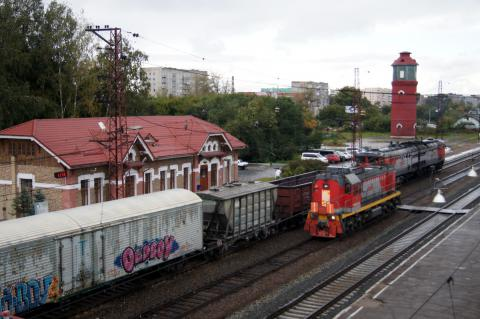 Бердский железнодорожный вокзал
