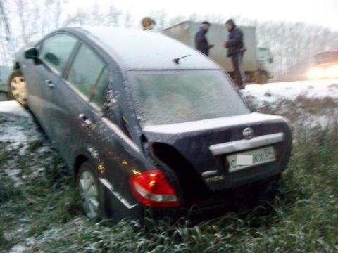 На лысых колесах водители попадают в серьезные аварии