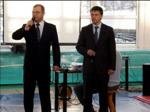 Илья Потапов и Александр Илющенко вместе участвовали в мероприятиях Бердска