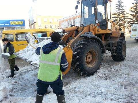 В приоритете у дорожных служб очистка центральных дорог Бердска