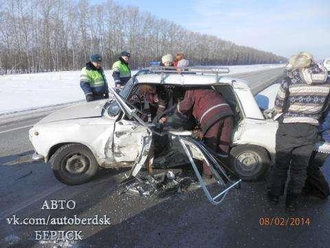 Смертельные ДТП на зимних дорогах Черепановского района не редкость