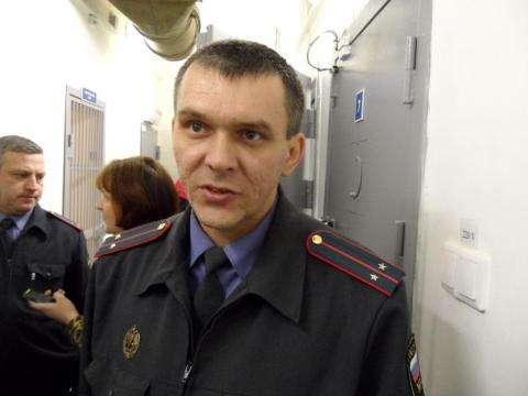 Начальник ИВС подозреваемых и обвиняемых Сергей  Шведов
