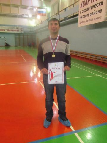 Бадминтонист Дмитрий Герасимов - победитель турнира