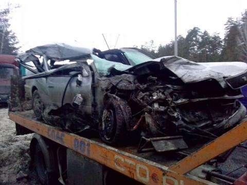 От автомобиля, в котором погибла девушка, ничего не осталось
