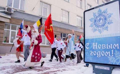 Русские трезвые пробежки 1 января стали традицией