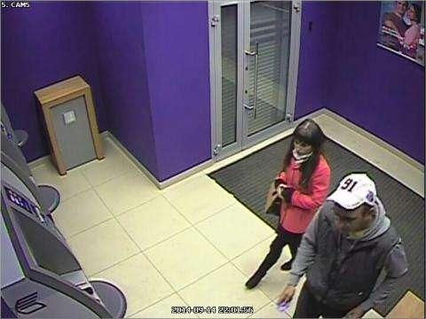 Злоумышленников запечатлела видеокамера банка