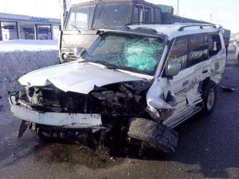 Пострадала пассажирка «Тойота Харриер»