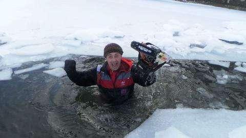 Виталий Панасюк, известный бердский аквайс-спортсмен. Фото с личной странички Виталия Панасюка в соцсетях