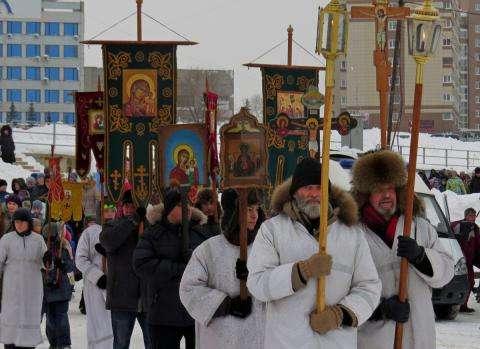 Крестный ход, как и любые массовые мероприятия, в Бердске всегда получает согласование властей