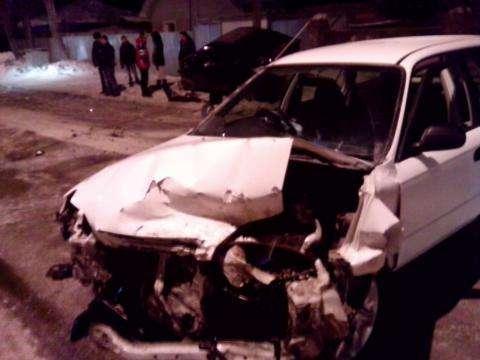 Жесткое ДТП произошло в Бердске из-за колеи на дороге