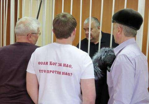 Виктор Голубев находится под арестом по решению областного суда