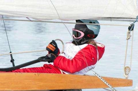 Анжелика Багрицкая заняла 4 место в чемпионате мира по буерному спорту