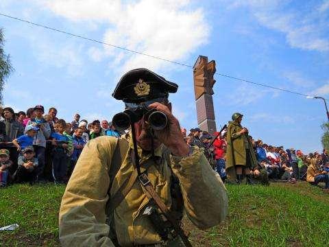 В парке Победы в Бердске 9 мая проводятся массовые мероприятия