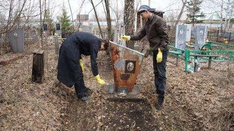 Каждый может принять участие в волонтерской работе по благоустройству ветеранских могил