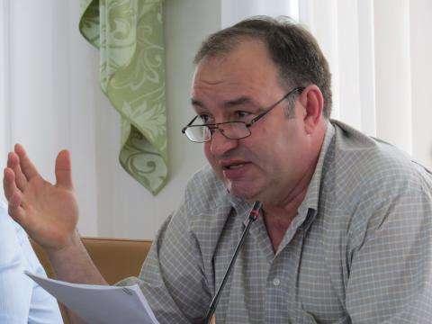 "Виктор Шпомер, директор ЗАО ""Нотис"", депутат горсовета Бердска"
