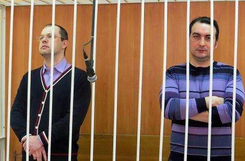 Илья Потапов и Владимир Мухамедов заслушивают свой приговор