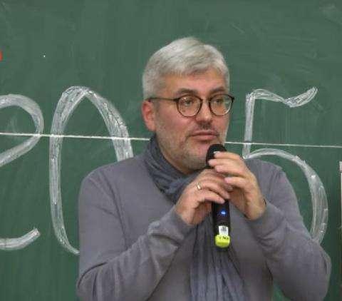 Евгений Водолазкин, автор текста Тотального диктанта-2015