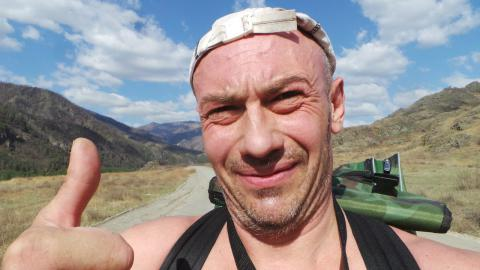 Житель Бердска Виталий Панасюк - известный аквайс-спортсмен. Горячо поддерживает курс президента РФ