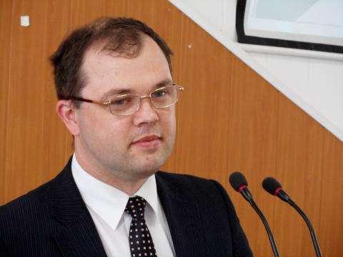 Глава Бердска Илья Потапов