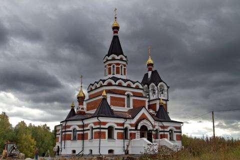 Храм в честь Новомученников и Исповедников земли Русской. Фото: Искитимская епархия
