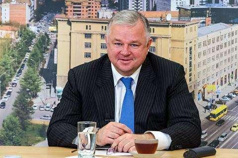 Олег Иванинский, министр здравоохранения Новосибирской области