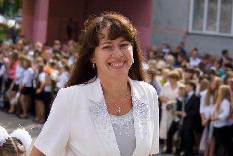 Татьяна Полонская, школа №5 города Бердска. Фото с сайта школы
