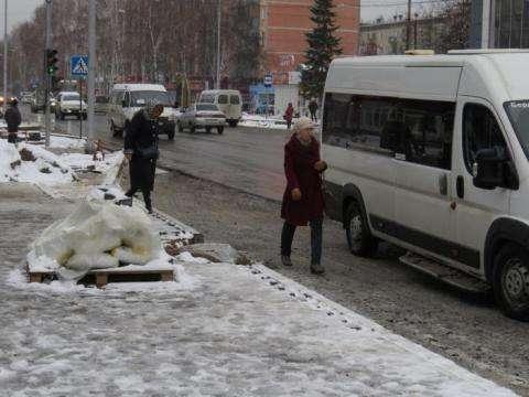 Ремонт ул. Ленина в Бердске близок к завершению