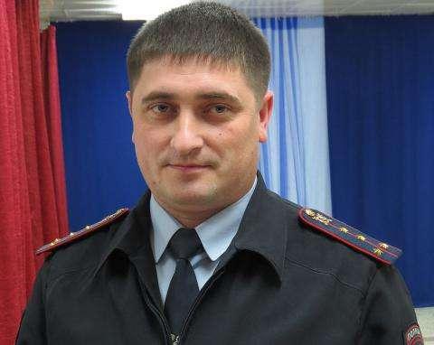 Начальник ГИБДД Бердска Дмитрий Чучин