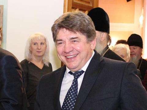 Градоначальник Евгений Шестернин после принесения присяги на верность Бердску, фото Дмитрия Дорофеева