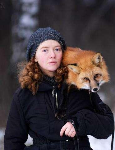 Ирина Мухамедшина и ее пропавшая одомашненная лисица