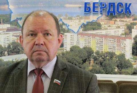 Валерий Бадьин, председатель Совета депутатов Бердска