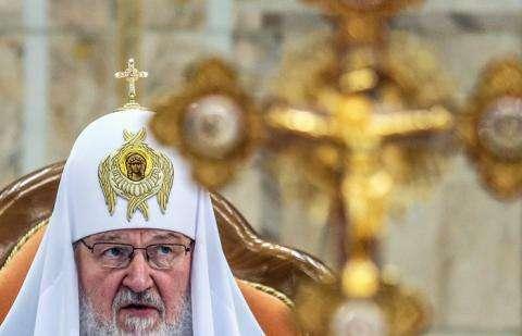 Патриарх Московский и всея Руси Кирилл. Фото: ТАСС, Валерий Шарифулин