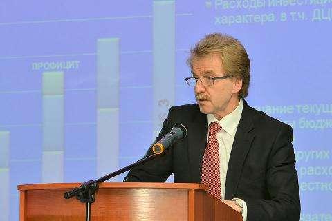 Глава наукограда Кольцово Николай Красников
