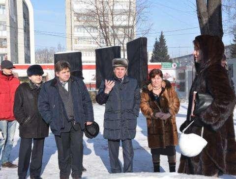 Губернатор Владимир Городецкий в Бердске