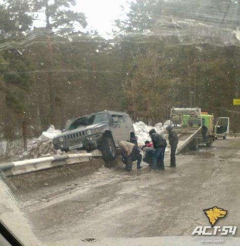 Фото инцидента сделали очевидцы