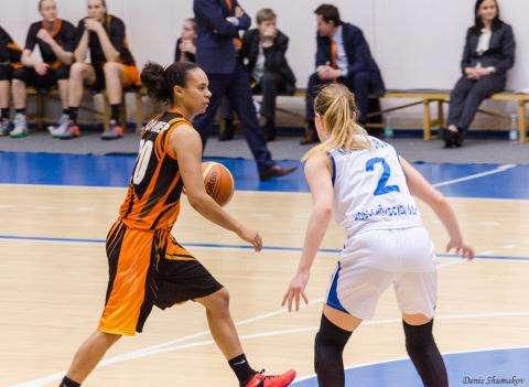 В Бердске прошел матч плей-офф  1/4 финала Чемпионата России по баскетболу среди женских команд