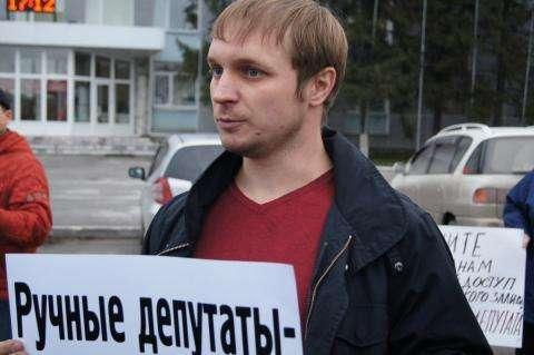 ВНовосибирске обыскали поддержанного Ходорковским кандидата