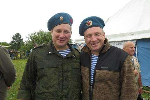 Спецназовцы Михаил Шустов и Александр Слепаков