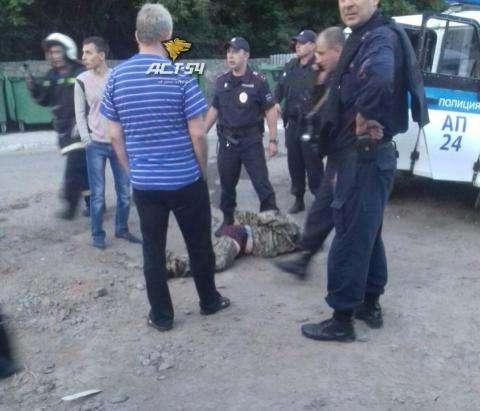 ВНовосибирске нетрезвый мужчина устроил стрельбу попожарным иполицейским