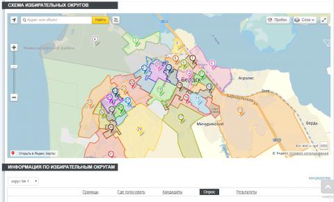 Рейтинговое голосование за кандидатов, баллотирующихся в горсовет Бердска, проводится в форме опроса на Бердск-онлайн в разделе Выборы-2016
