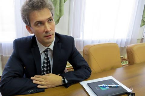 Начальник управления градостроительства администрации Бердска Дмитрий Шинкевич