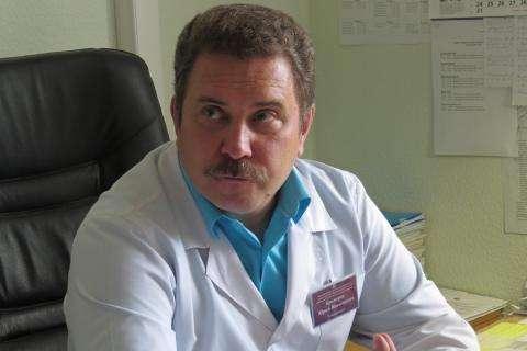 Юрий Николаевич Краморов, главный врач бердской ЦГБ