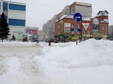 Центральная дорога Бердска - ул. Ленина
