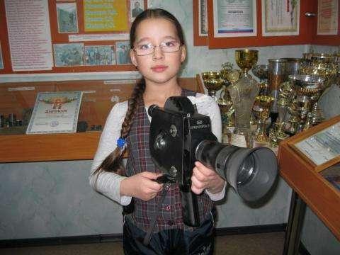 Некотрые экспонаты музея бердского отдела МВД детям разрешили потрогать